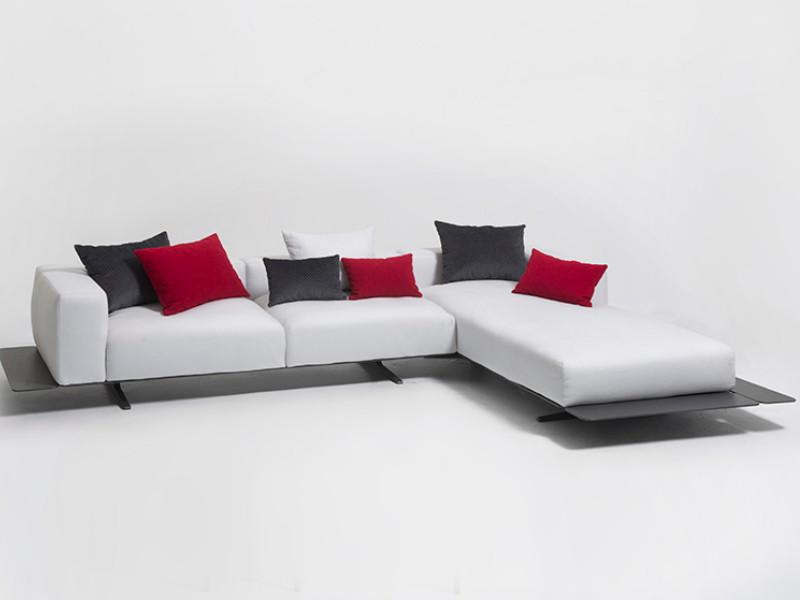 Sofa longue sinistro Eden Talenti EDNSX esempio arredo