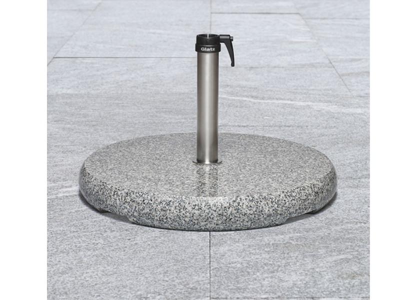 base in granito naturale z 90 kg diametro cm 73